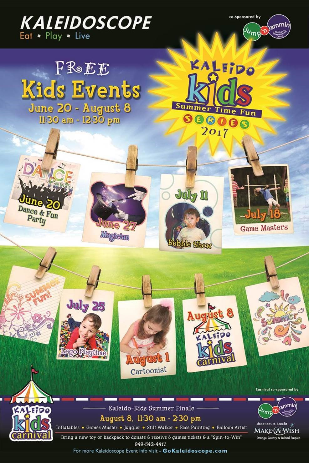 kaleido-kids-summer-events-2017